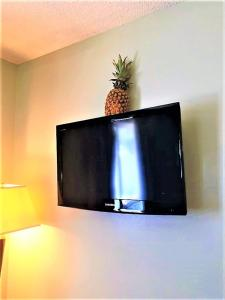 A television and/or entertainment center at Gold Coast Family Cottages
