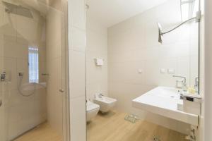 Vannituba majutusasutuses Hotel Adria
