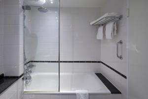 Een badkamer bij Copenhagen Strand