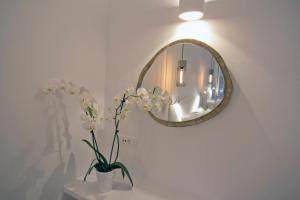 A bathroom at Nida Mykonos
