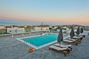 The swimming pool at or near Nida Mykonos