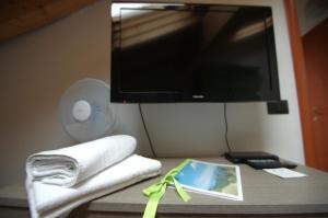 TV o dispositivi per l'intrattenimento presso Agriturismo Profumo di lavanda