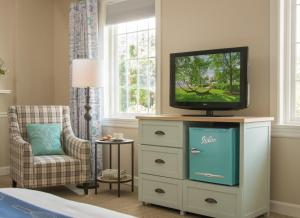 A television and/or entertainment center at The Essex Resort