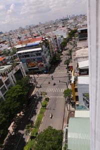 A bird's-eye view of Hung Miami Hotel