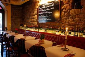 A restaurant or other place to eat at Hotel Haus Reichert