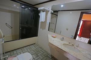 Ванная комната в Portal Rio Una