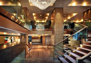 The lobby or reception area at The Hari London