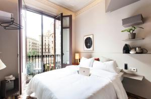 Cama o camas de una habitación en DestinationBCN - Universitat Rooms