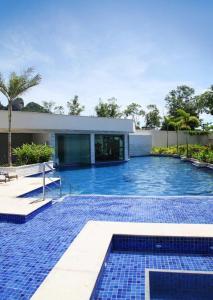 The swimming pool at or close to Samba Rio Convention
