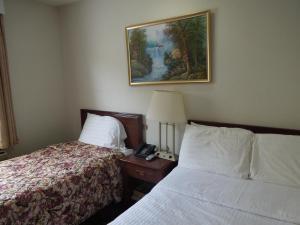 Cama o camas de una habitación en Windsor Hotel