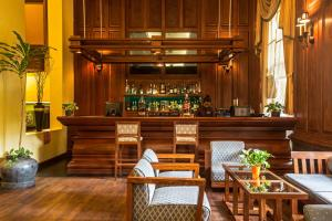 The lounge or bar area at Prince d'Angkor Hotel & Spa