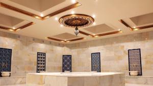 Lobby alebo recepcia v ubytovaní Artemis Resort Wellness Hotel