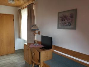 TV/Unterhaltungsangebot in der Unterkunft Alte Rose Gasthaus