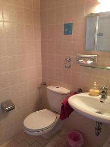 Ein Badezimmer in der Unterkunft Alte Rose Gasthaus