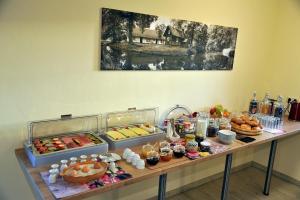 Frühstücksoptionen für Gäste der Unterkunft Villa Rosamunde