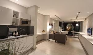 A cozinha ou cozinha compacta de Rafa
