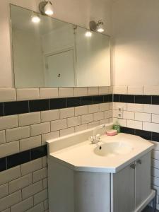 A bathroom at Amby family house