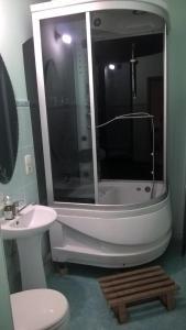 A bathroom at Hostel Classic