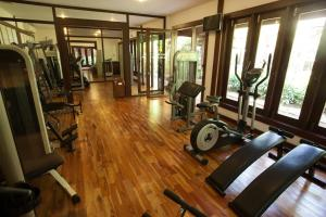 The fitness center and/or fitness facilities at Green Park Boutique Hotel