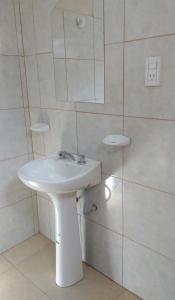 A bathroom at Hostal Benjamin