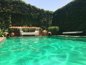The swimming pool at or near La Tierra Roja