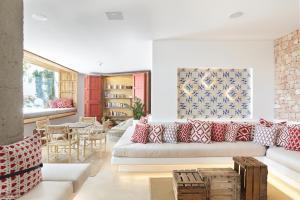 Area soggiorno di Apartamentos Castaví