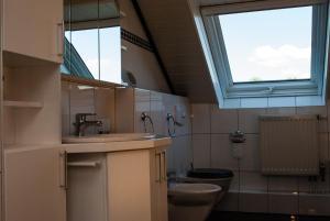 Ein Badezimmer in der Unterkunft Ferienwohnung Wolf