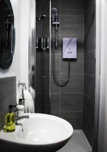 A bathroom at Mulligans of Deansgate