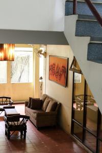 Zona de estar de Lamphuhouse Bangkok