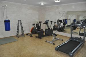 The fitness center and/or fitness facilities at President Resort Hotel