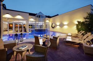 The swimming pool at or near Lindner Hotel & Spa Binshof