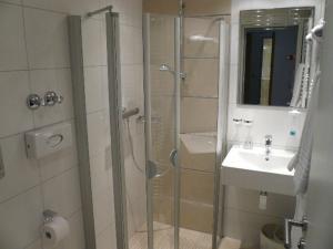 Ein Badezimmer in der Unterkunft Hotel Kaiserhof
