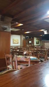 A restaurant or other place to eat at Hospedería Los Cahorros