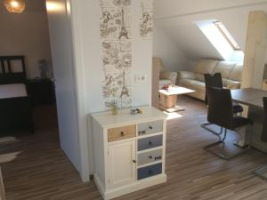 A bed or beds in a room at Apartments Avio