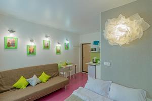 Гостиная зона в Studio Nekrasova 1