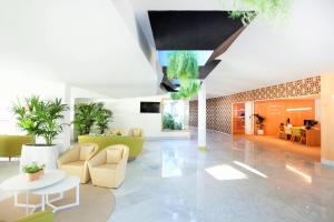 De lobby of receptie bij Iberostar Selection Lanzarote Park