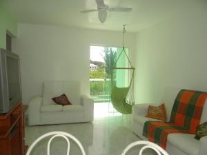 Uma área de estar em Residencial Marina Clube