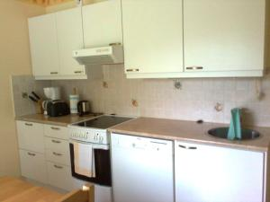 A kitchen or kitchenette at Marent Apartments