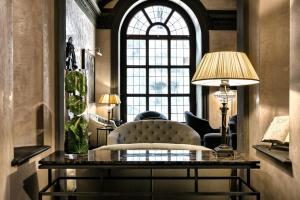 Zona de estar de Grand Hotel Baglioni