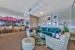 The lobby or reception area at Plaza Resort Club Reno