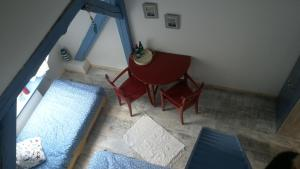 A seating area at Zum Storchennest
