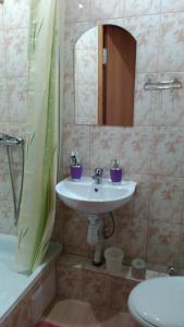 Ванная комната в Studio u Permskoy Yarmarki