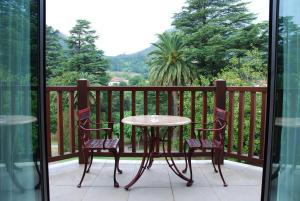 Un balcón o terraza de Gran Hotel Balneario De Puente Viesgo