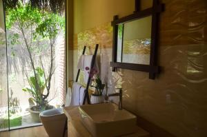 Phòng tắm tại Coco Bungalows Hoi An