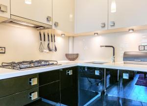 Kuchnia lub aneks kuchenny w obiekcie Mieszkanie Classa - ACCO RENT