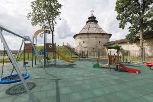 Детская игровая зона в Hotel Pokrovsky