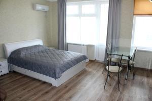 Кровать или кровати в номере Apartments 7 Level