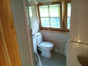 A bathroom at Klosteris