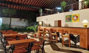 A restaurant or other place to eat at Novotel Goa Dona Sylvia Resort