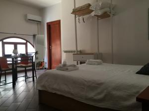 A bed or beds in a room at palermo casa vacanze